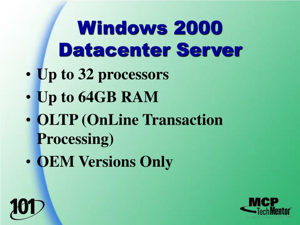 Windows 2000 Datacenter Server