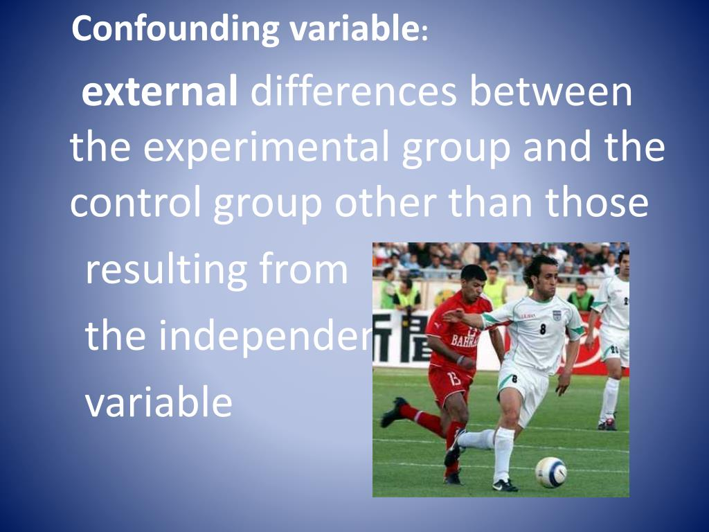 Confounding variable