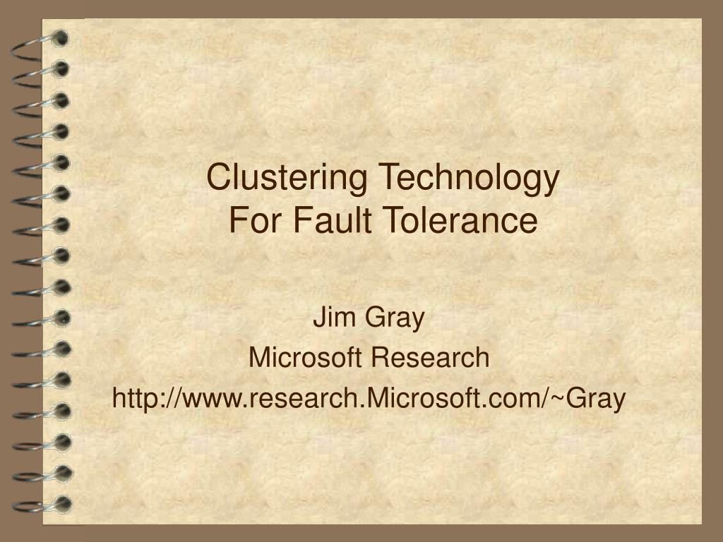 Clustering Technology