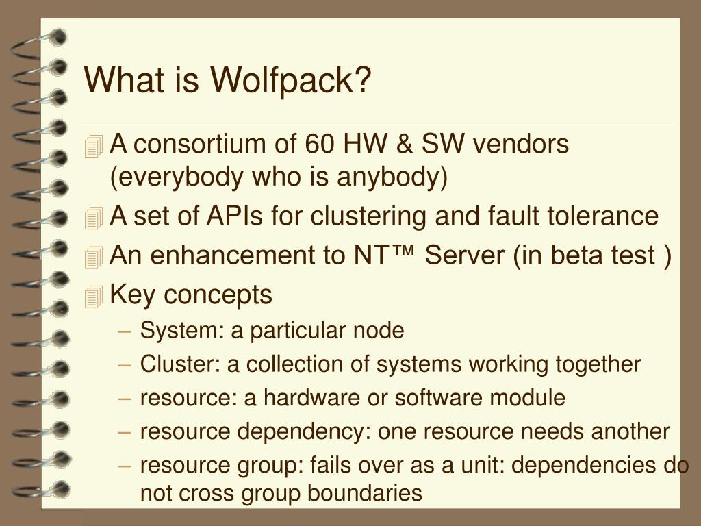 What is Wolfpack?