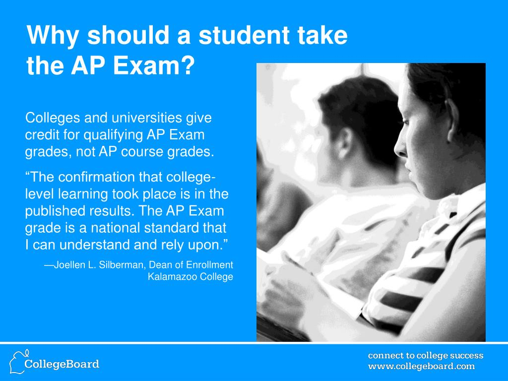 Why should a student take