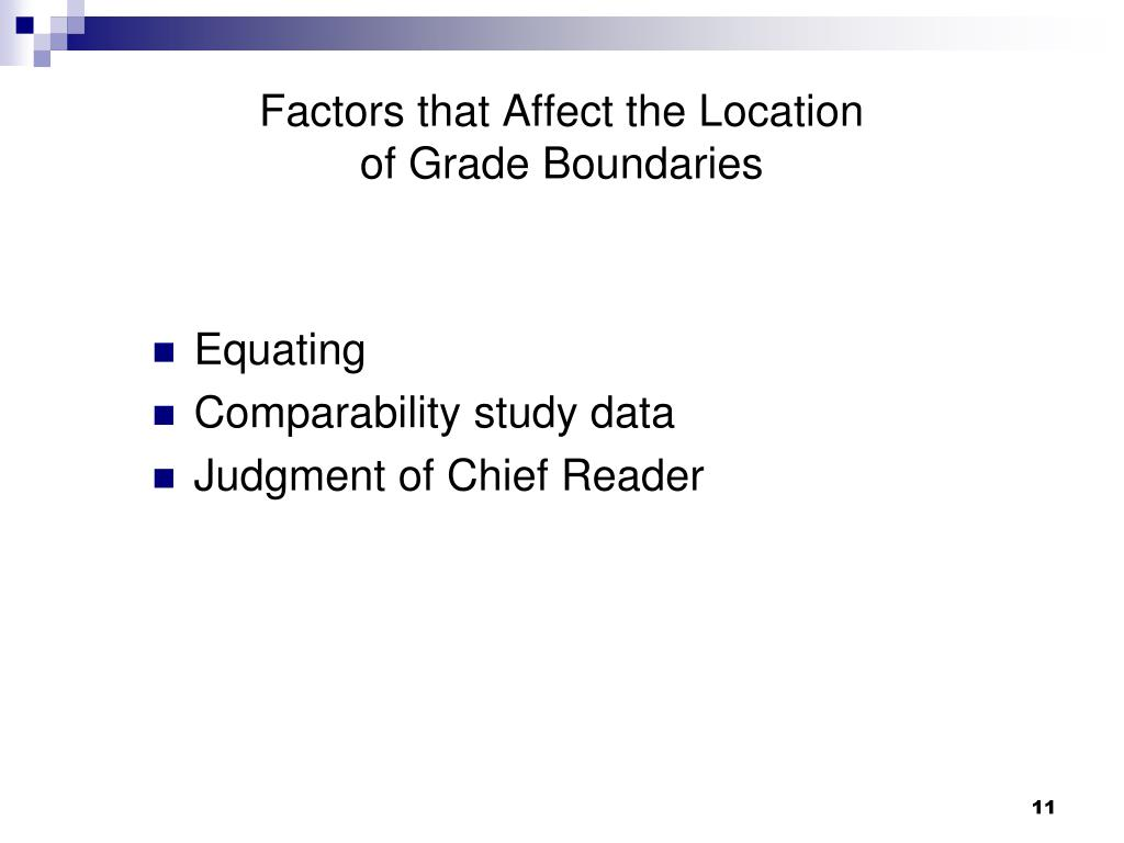 Factors that Affect the Location