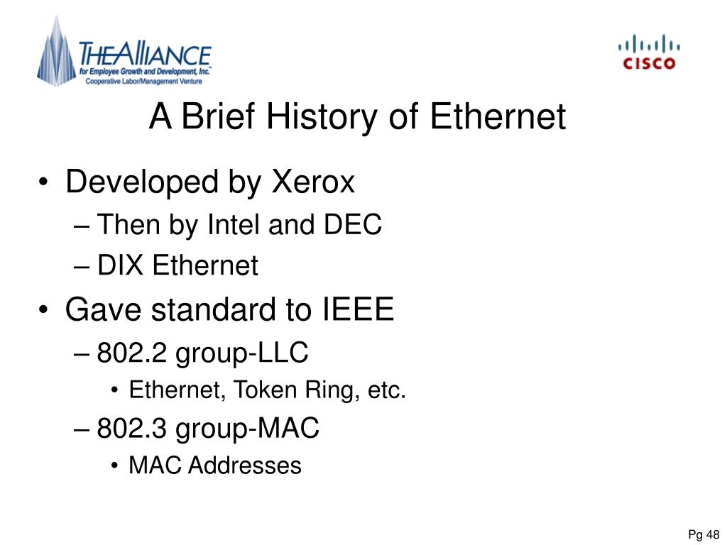 A Brief History of Ethernet