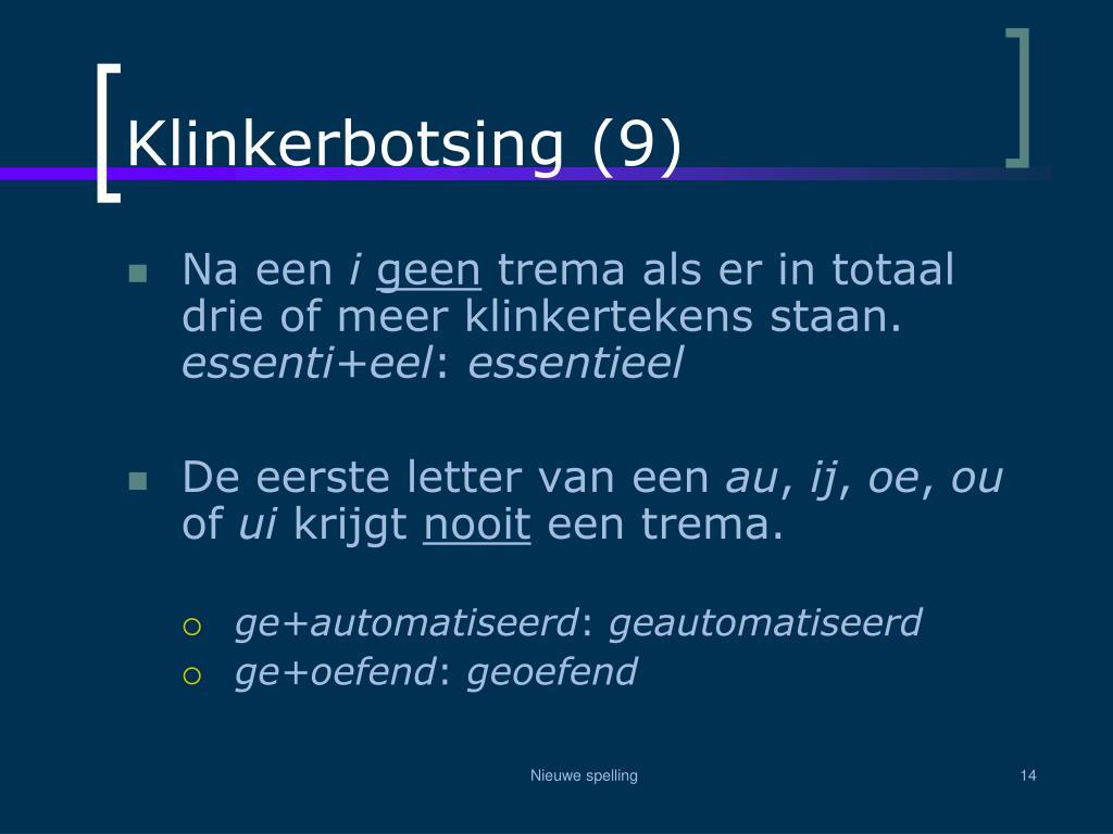 Klinkerbotsing (9)