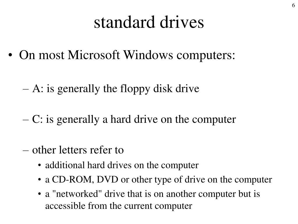 standard drives