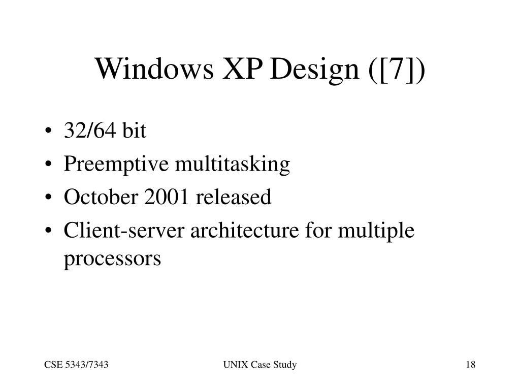 Windows XP Design ([7])