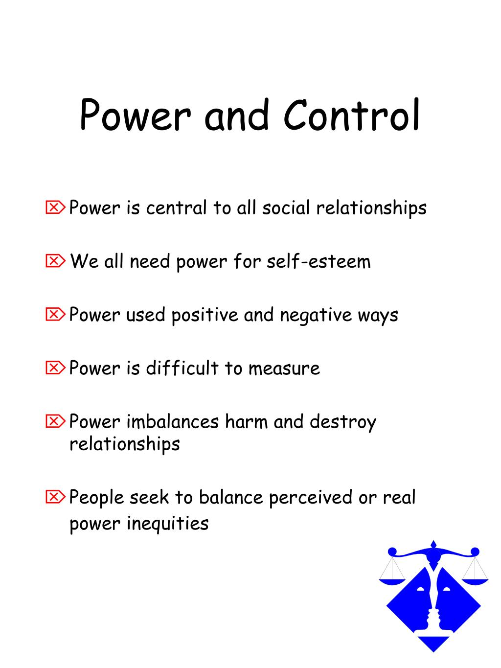 Power and Control
