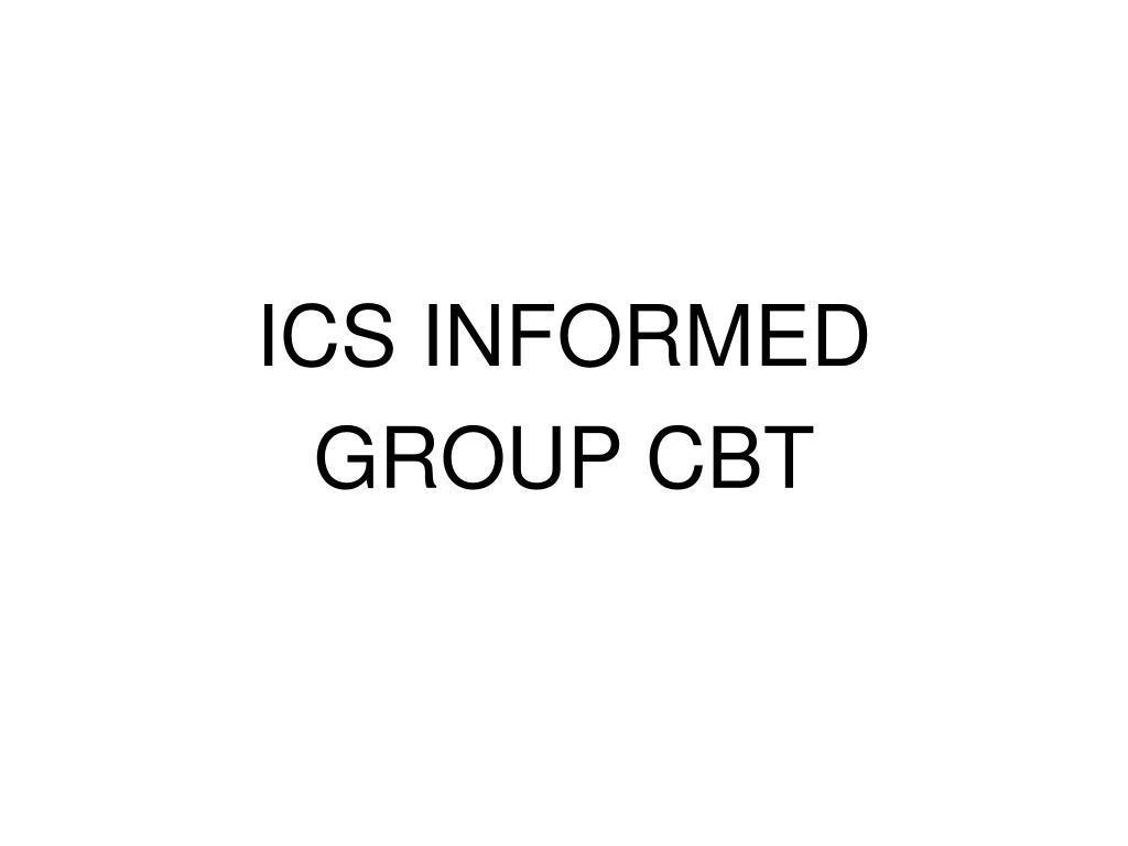 ICS INFORMED