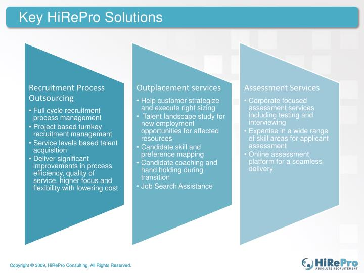 Key hirepro solutions