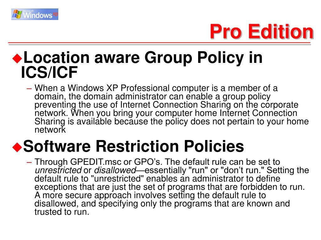 Pro Edition