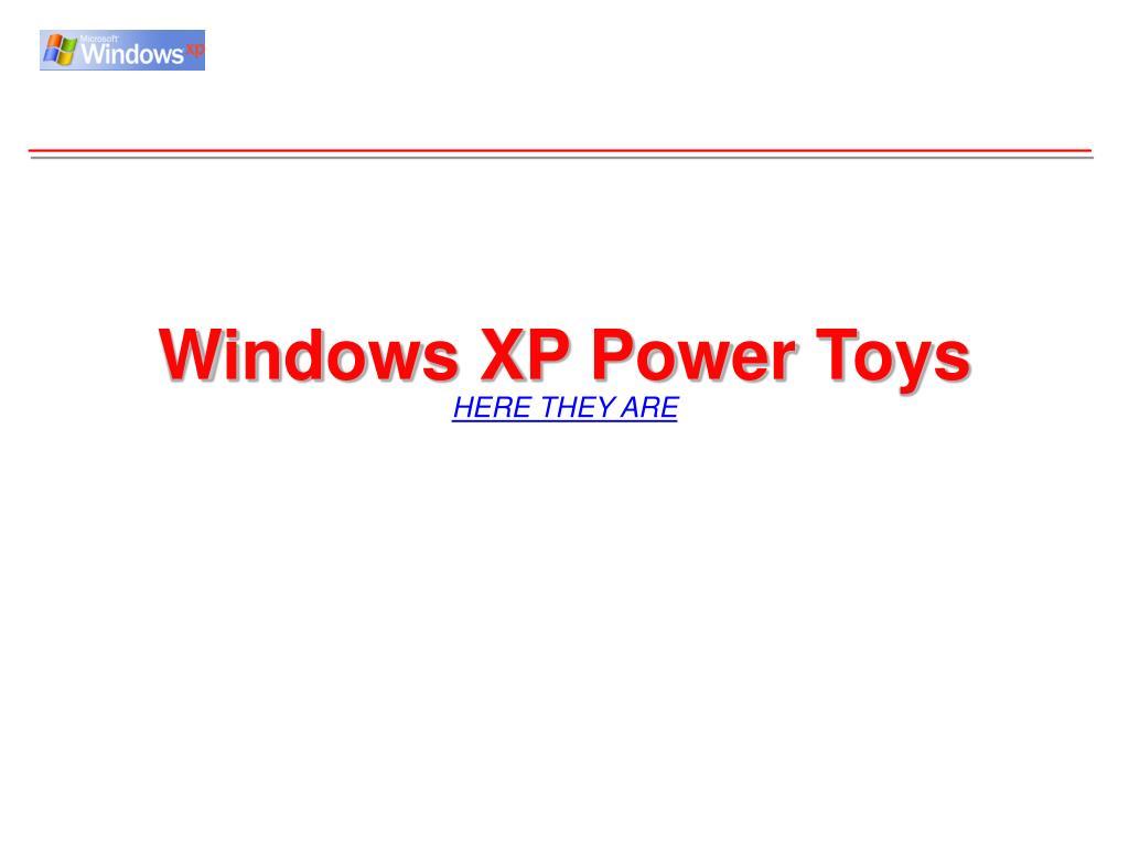 Windows XP Power Toys