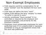 non exempt employees