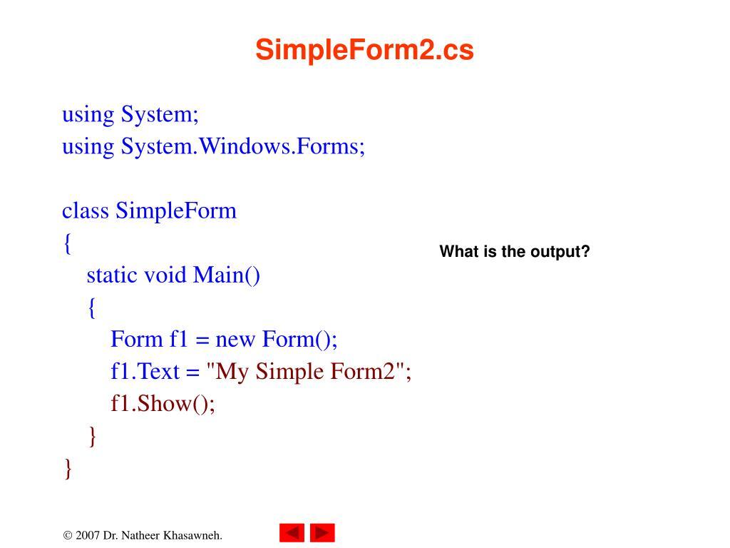 SimpleForm2.cs