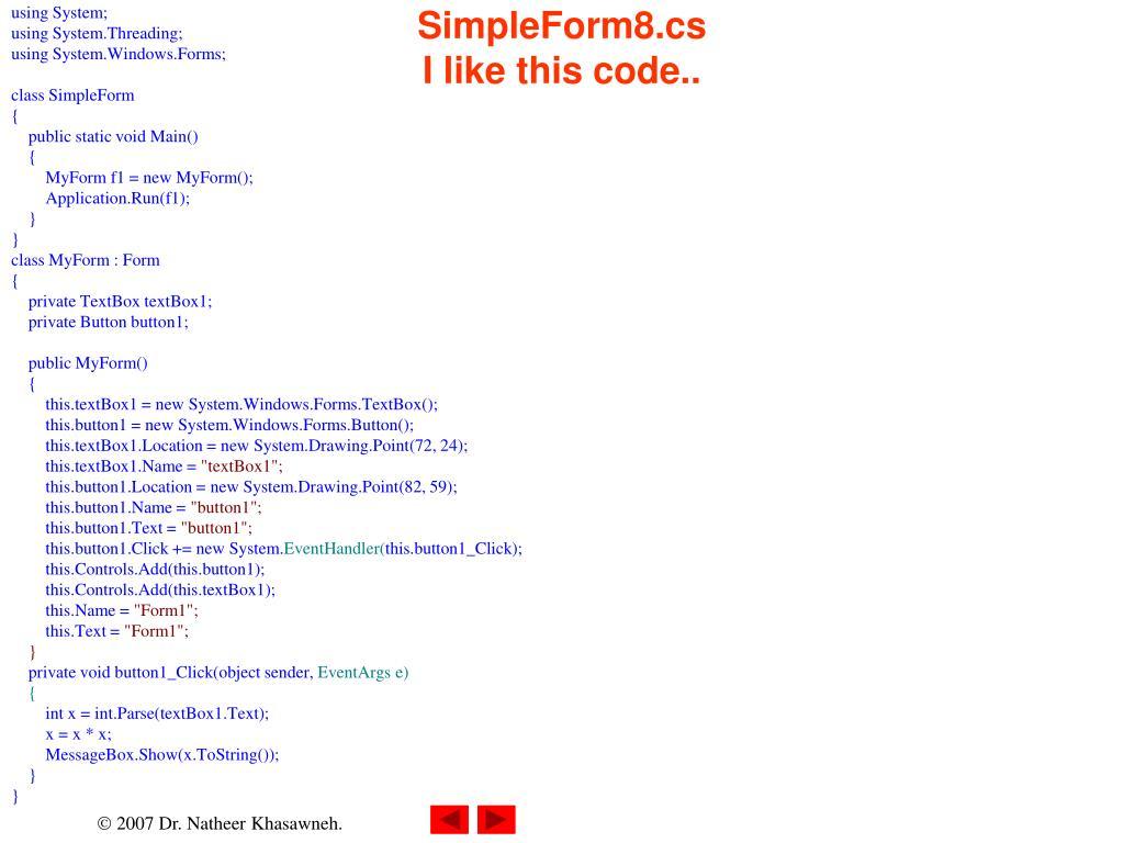 SimpleForm8.cs