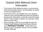 outlook 2003 webmail client information3