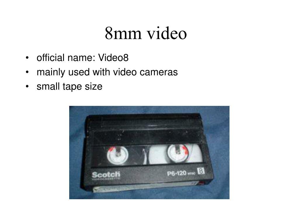 8mm video