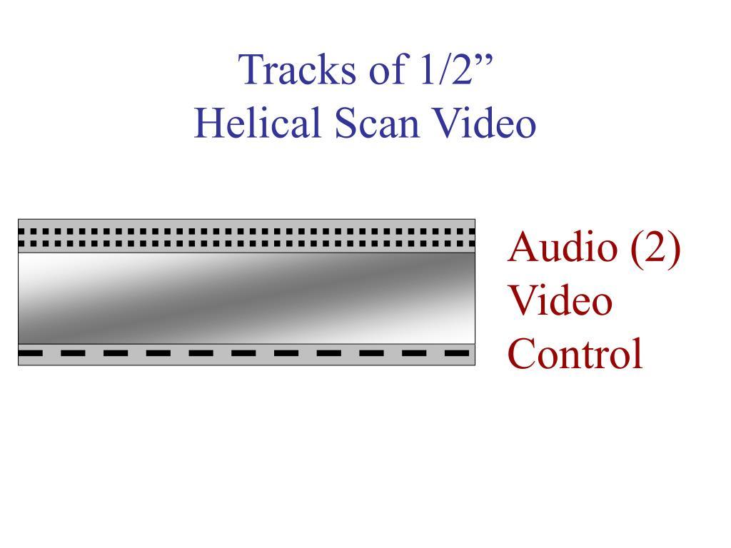 "Tracks of 1/2"""
