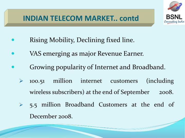 INDIAN TELECOM MARKET.. contd