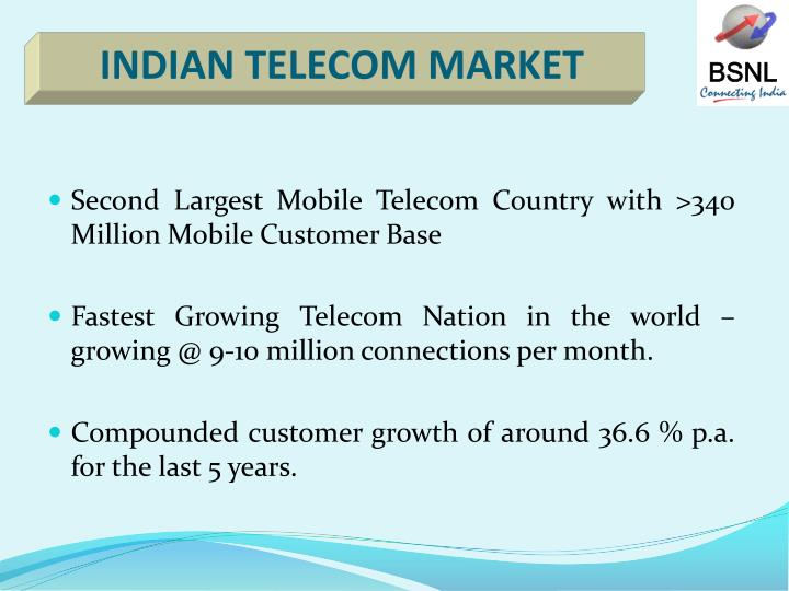 INDIAN TELECOM MARKET