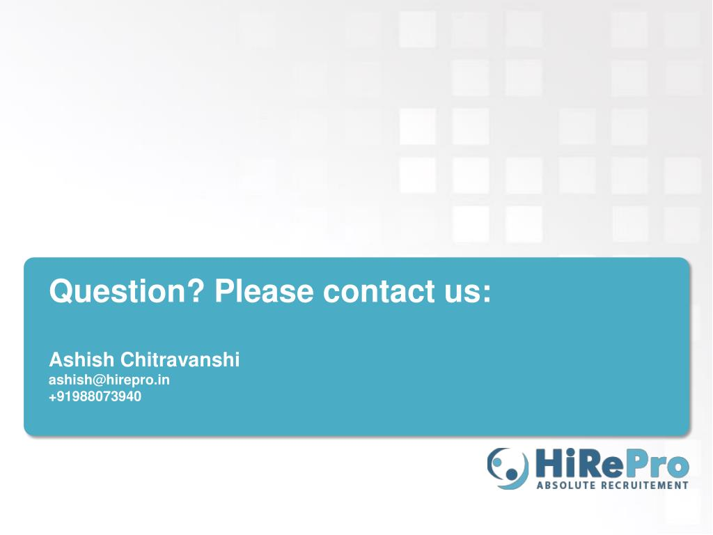 Question? Please contact us: