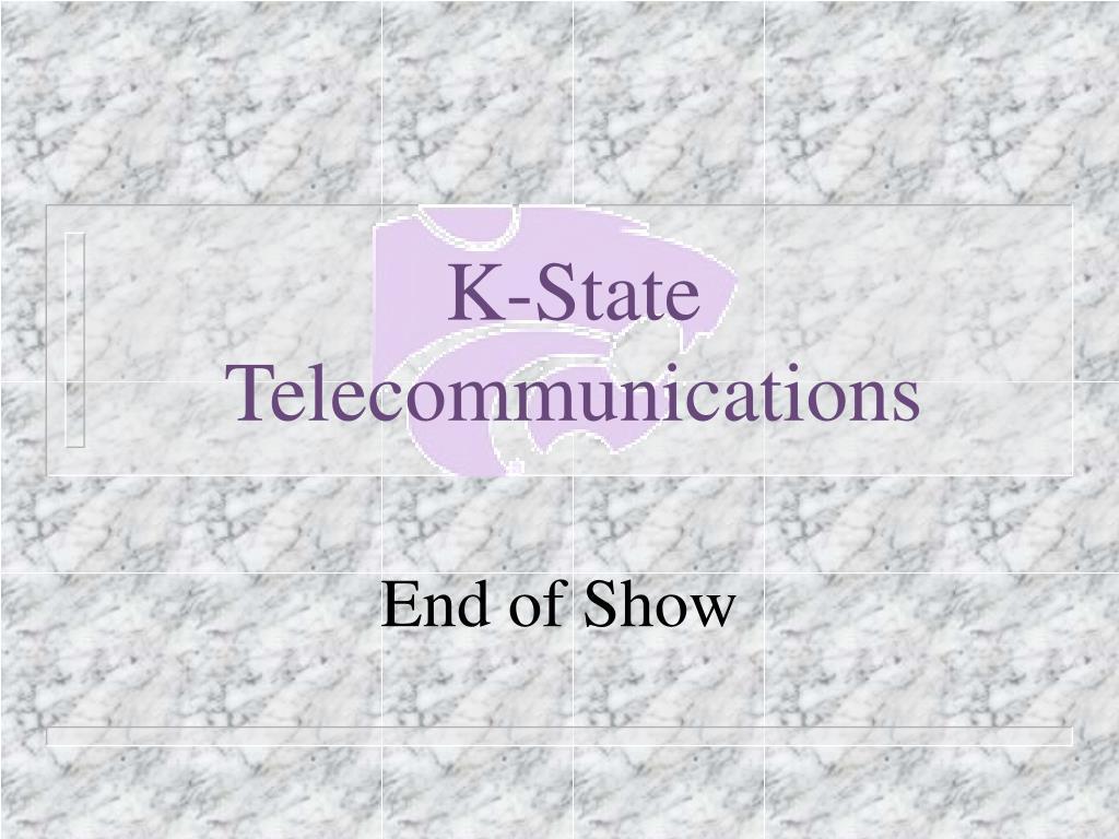 K-State Telecommunications