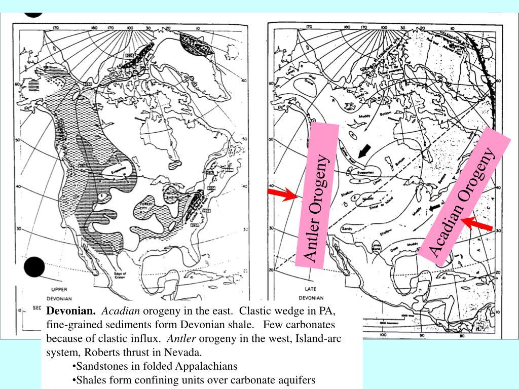 Acadian Orogeny