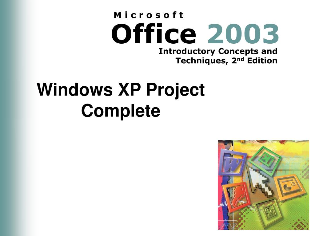 Windows XP Project Complete