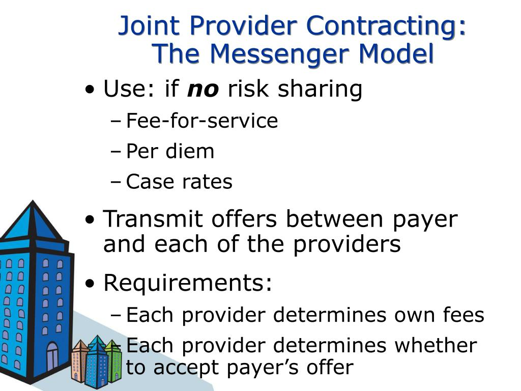 Joint Provider Contracting: