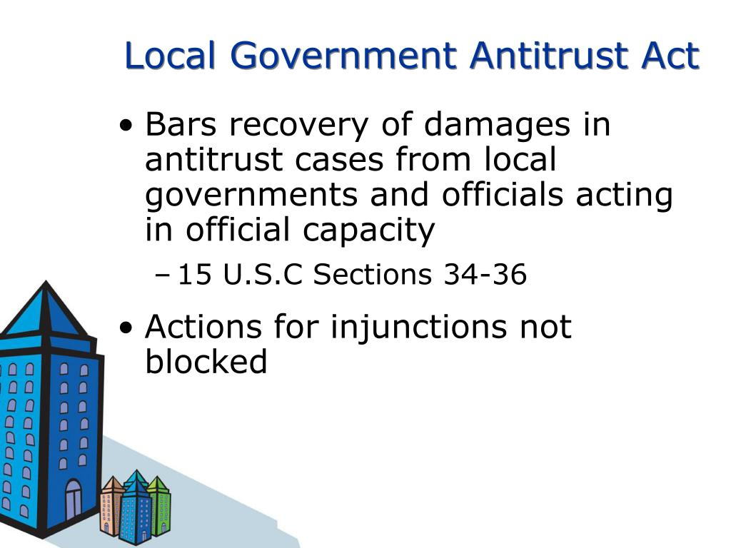 Local Government Antitrust Act