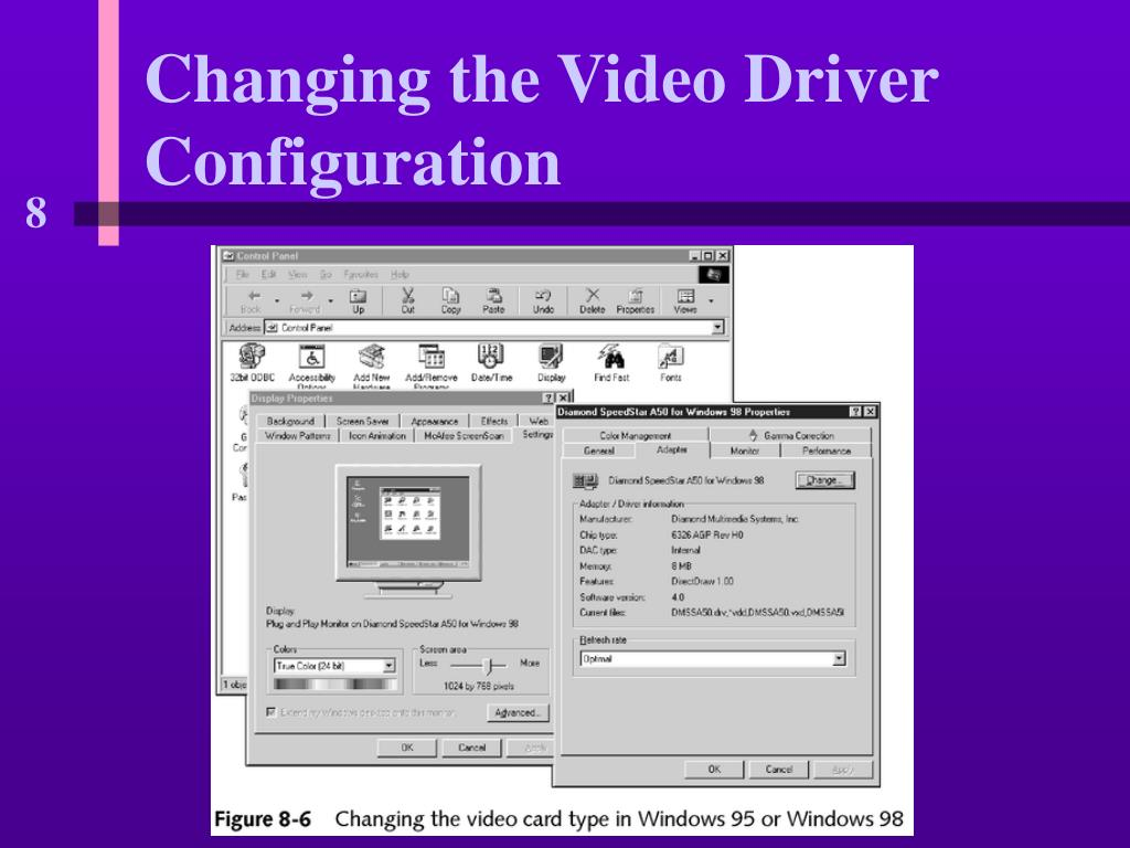 Changing the Video Driver Configuration