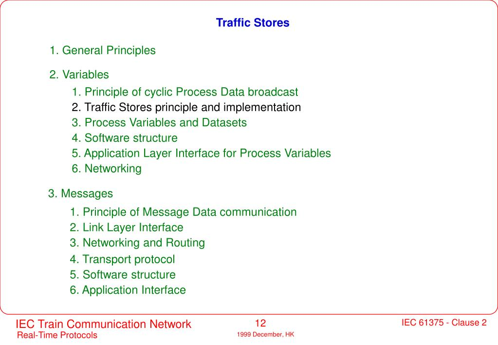 Traffic Stores
