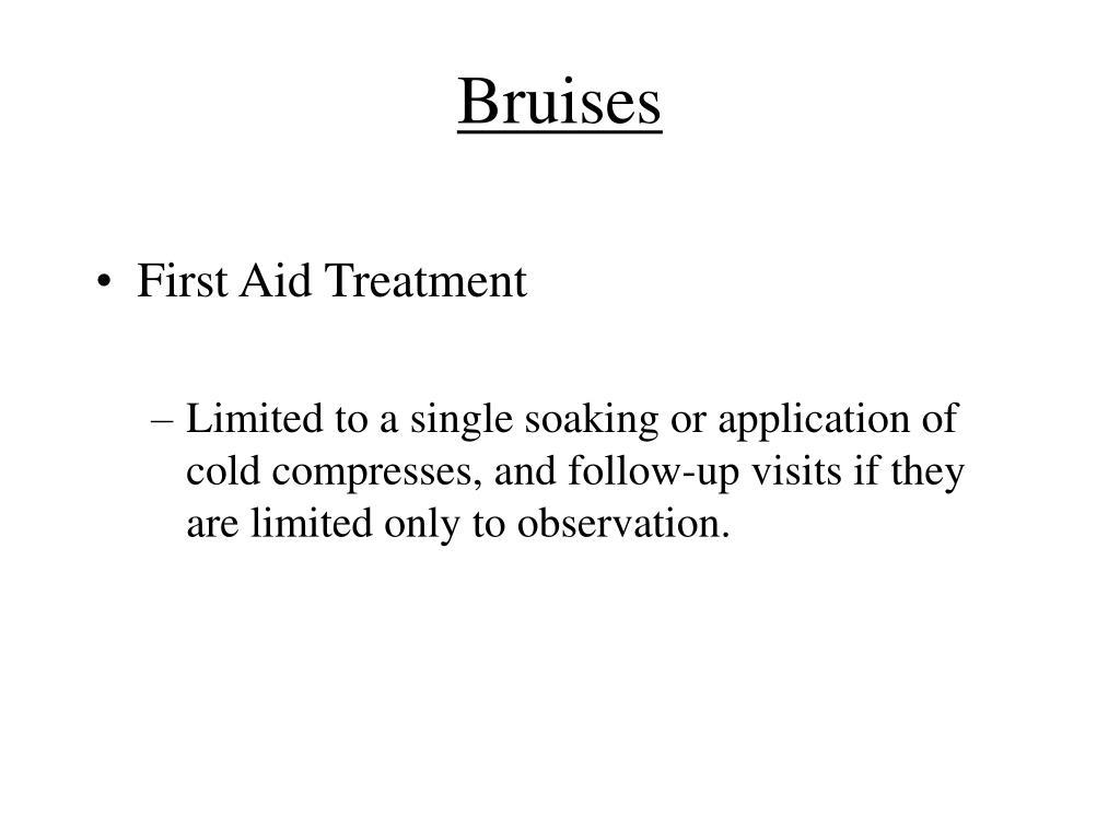 Bruises