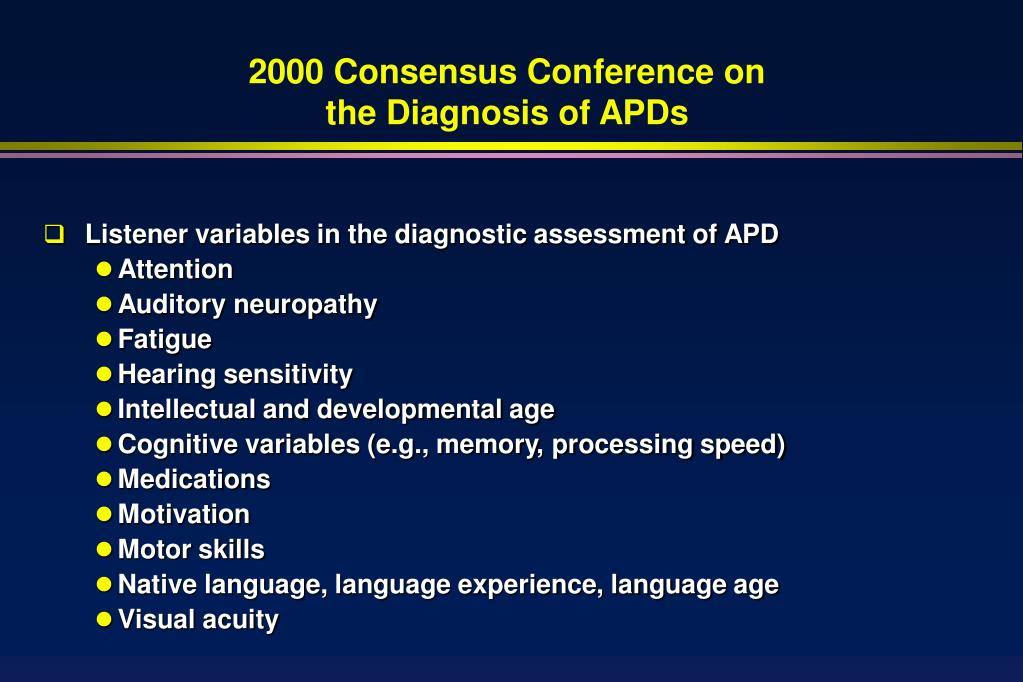2000 Consensus Conference on