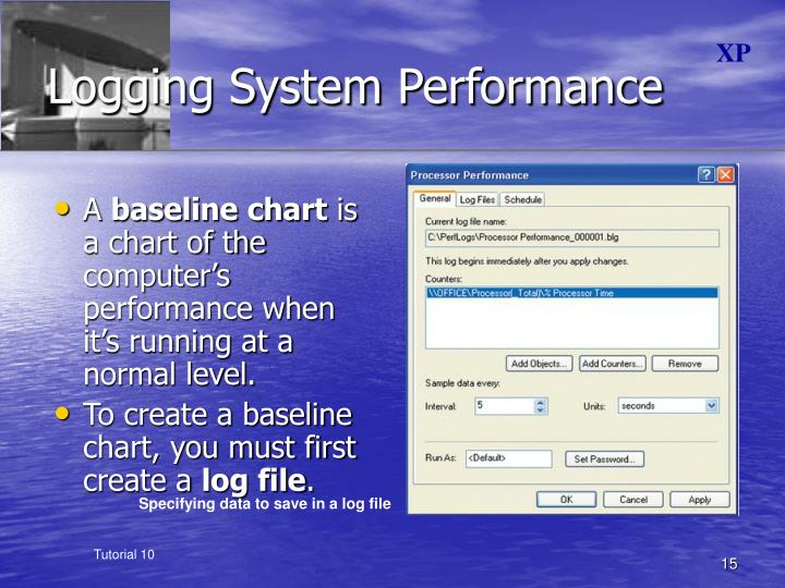Logging System Performance