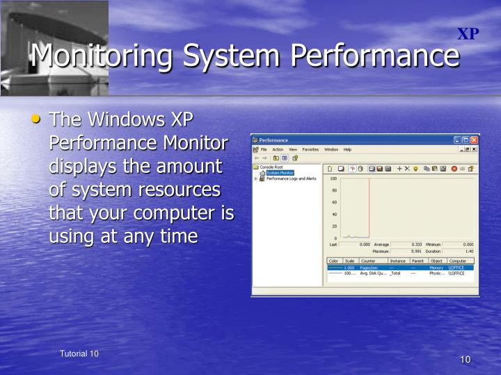 Monitoring System Performance