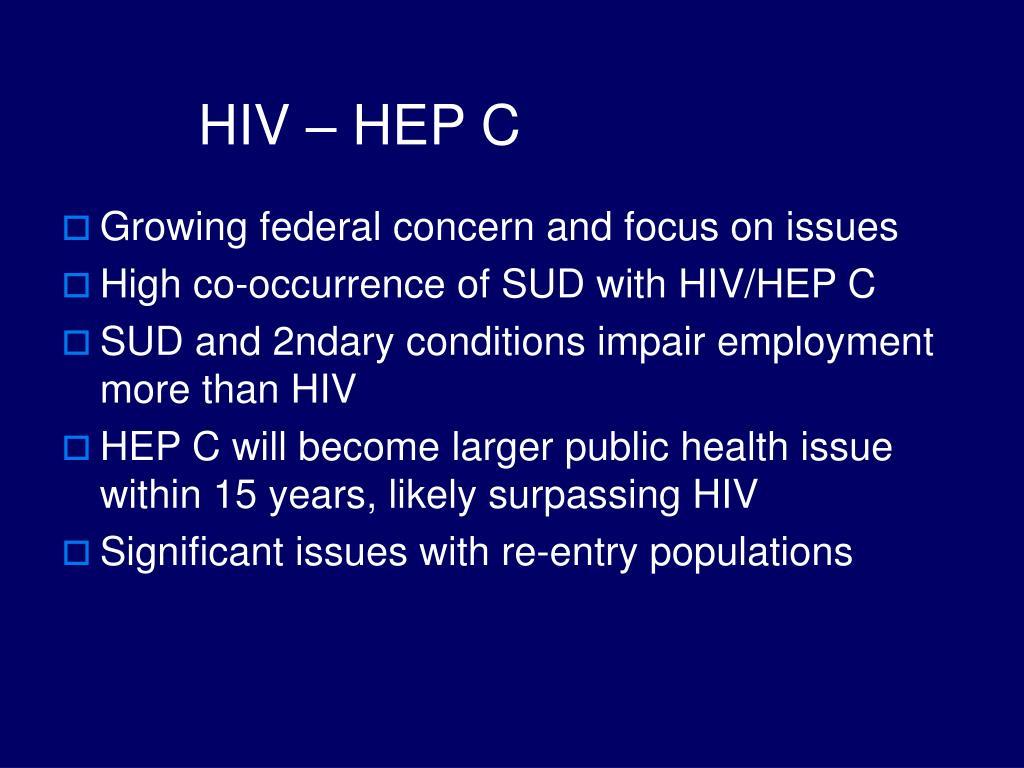 HIV – HEP C