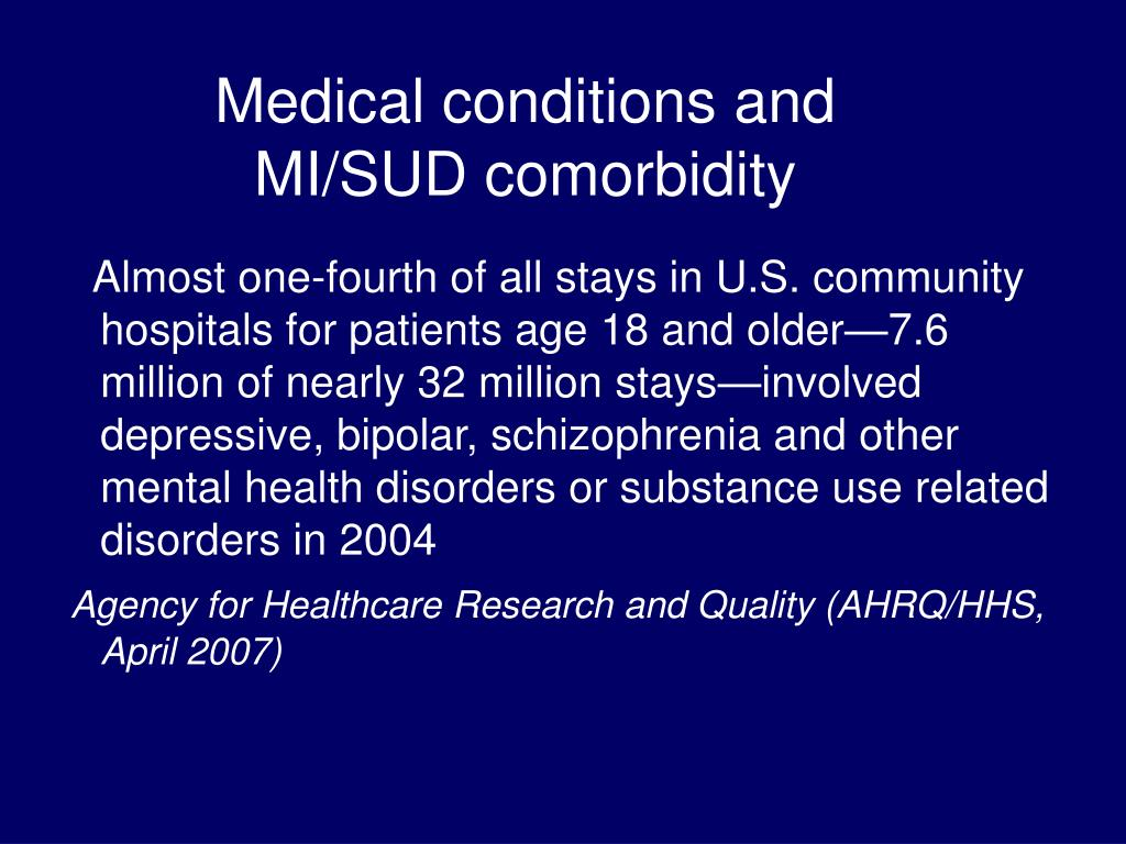 Medical conditions and
