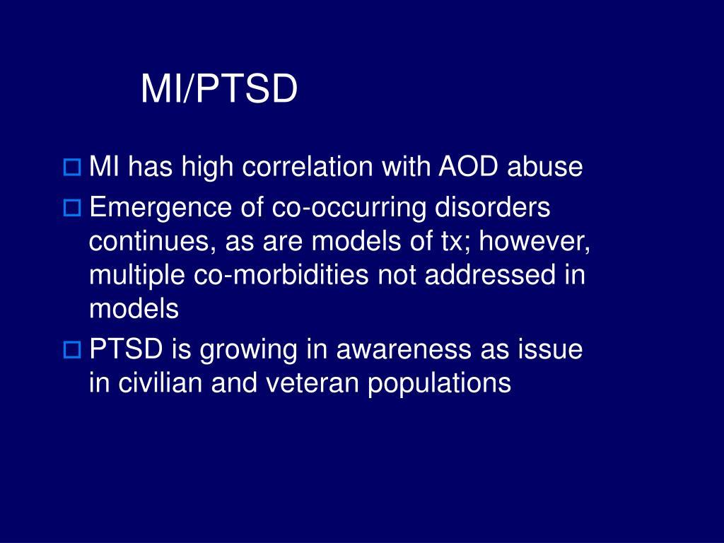 MI/PTSD