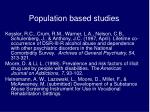 population based studies6