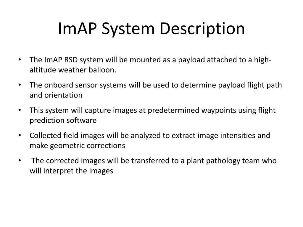 ImAP System Description