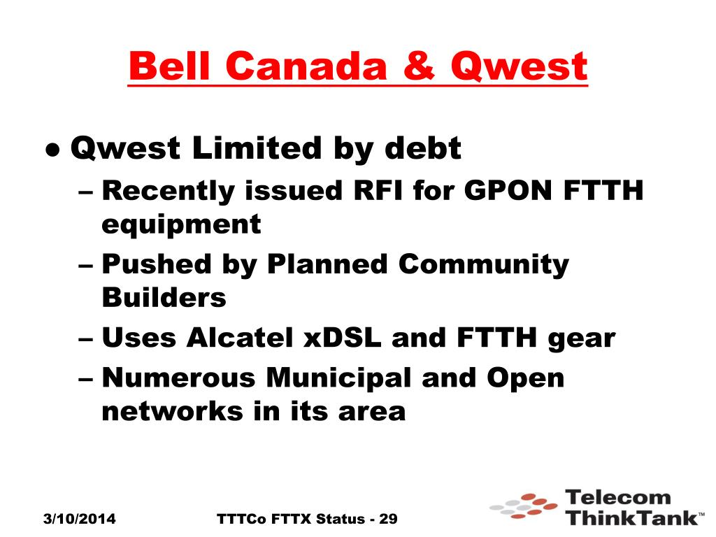 Bell Canada & Qwest