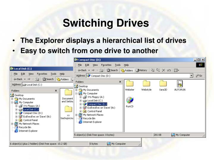 Switching Drives
