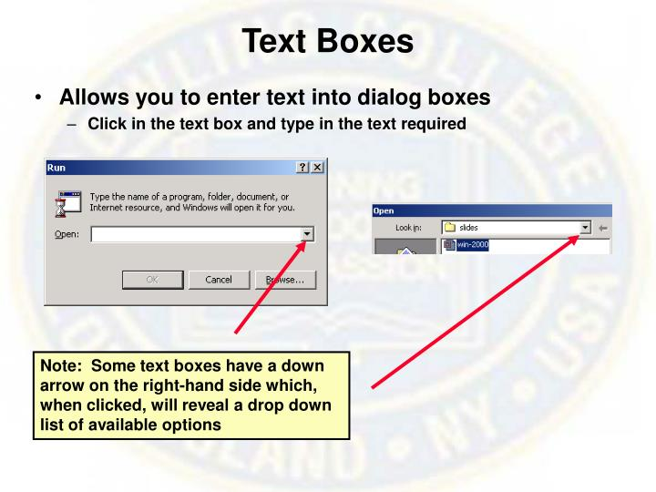Text Boxes
