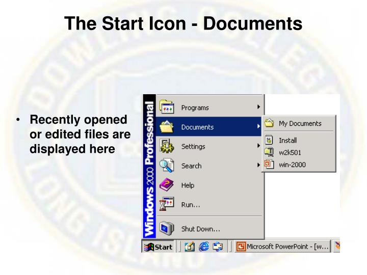 The Start Icon - Documents