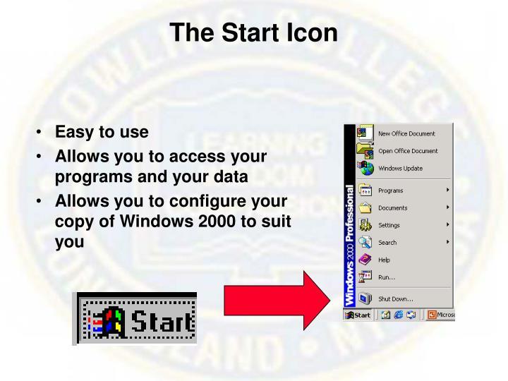 The Start Icon