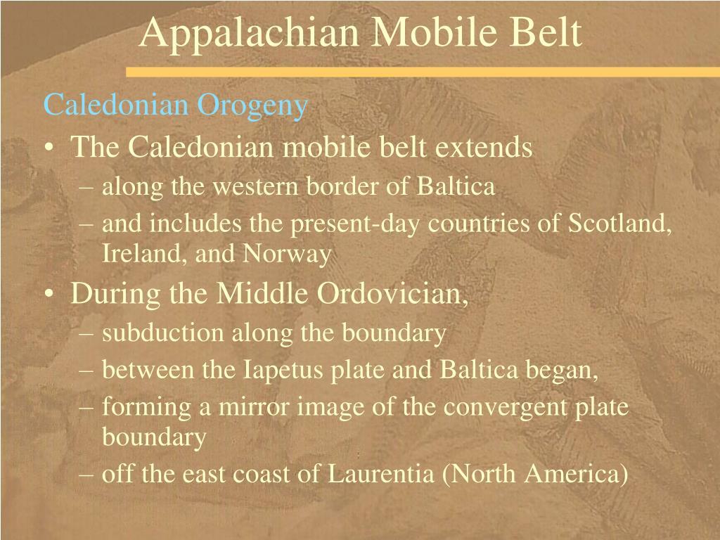 Appalachian Mobile Belt
