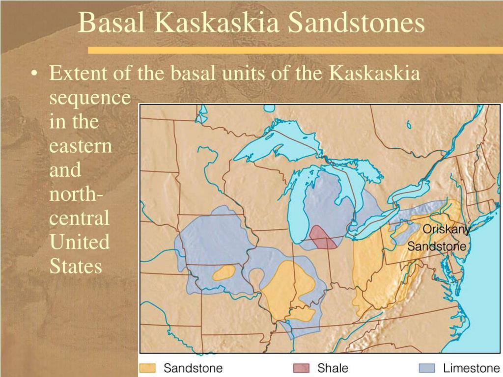 Basal Kaskaskia Sandstones