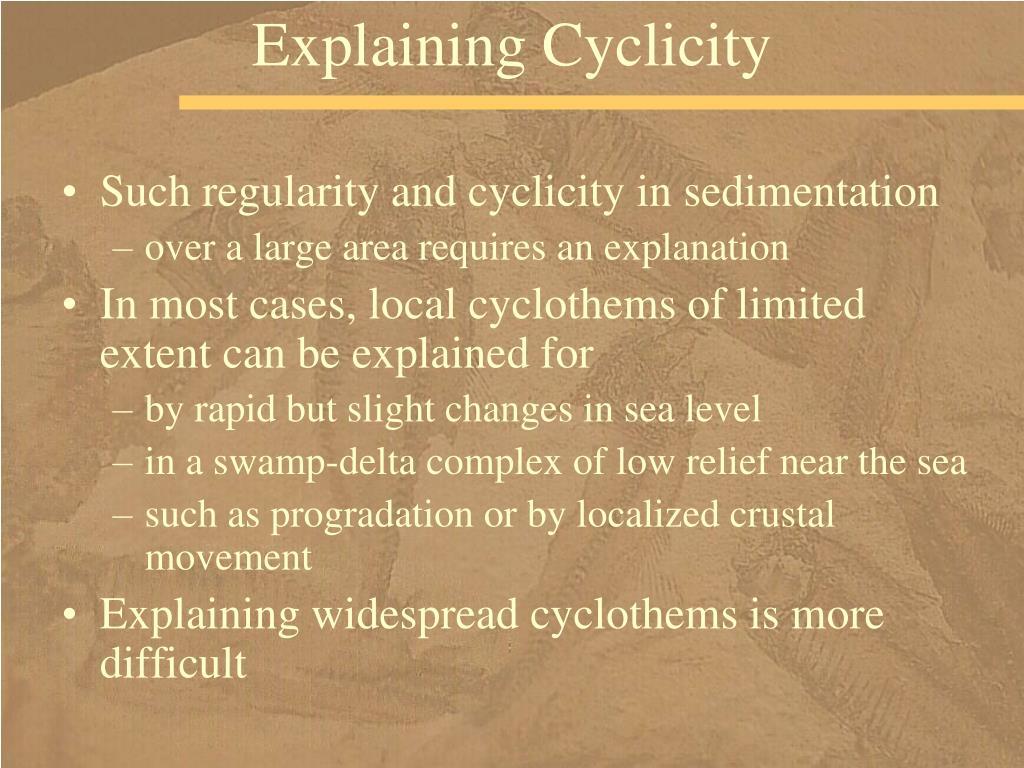 Explaining Cyclicity