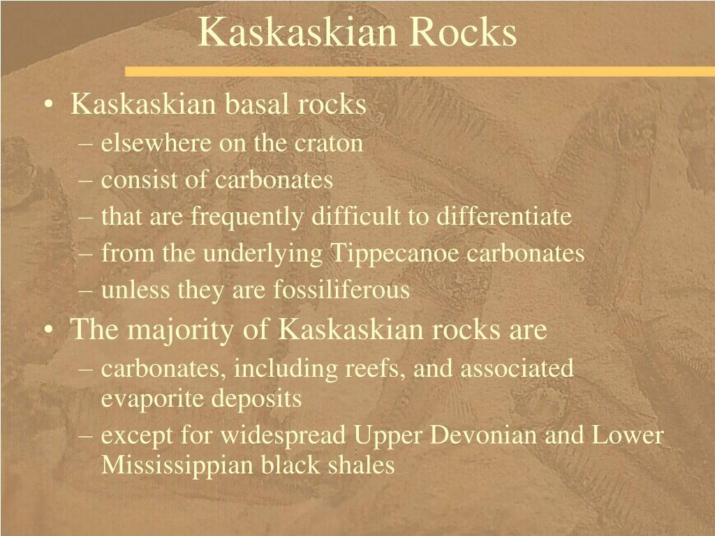Kaskaskian Rocks