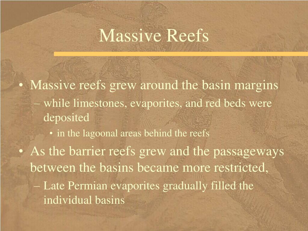 Massive Reefs